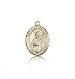 St. Malachy O'more Medal, 14 Karat Gold, Medium [BL2698]