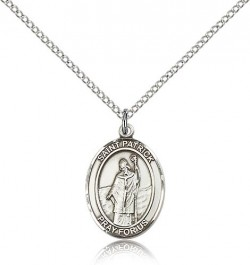 St. Patrick Medal, Sterling Silver, Medium [BL3004]