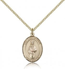 Our Lady of Hope Medal, Gold Filled, Medium [BL0322]