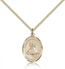 Our Lady of San Juan Medal, Gold Filled, Medium [BL0448]