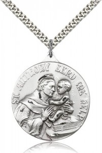 St. Anthony Medal, Sterling Silver [BL4238]