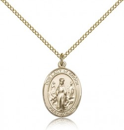 Our Lady of Knock Medal, Gold Filled, Medium [BL0331]