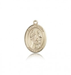 St. Joachim Medal, 14 Karat Gold, Medium [BL2197]