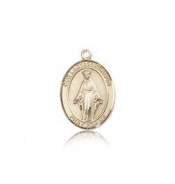 Our Lady of Lebanon Medal, 14 Karat Gold, Medium [BL0355]