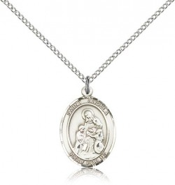St. Angela Merici Medal, Sterling Silver, Medium [BL0724]