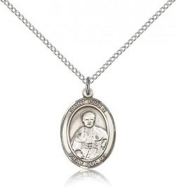 St. Pius X Medal, Sterling Silver, Medium [BL3121]