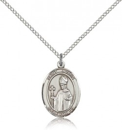 St. Austin Medal, Sterling Silver, Medium [BL0823]