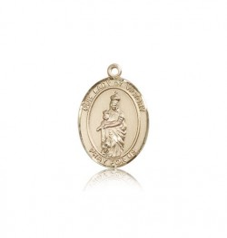 Our Lady of Victory Medal, 14 Karat Gold, Medium [BL0472]