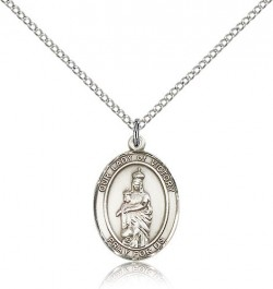 Our Lady of Victory Medal, Sterling Silver, Medium [BL0478]