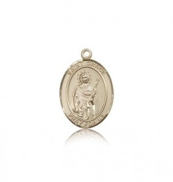 St. Grace Medal, 14 Karat Gold, Medium [BL2008]