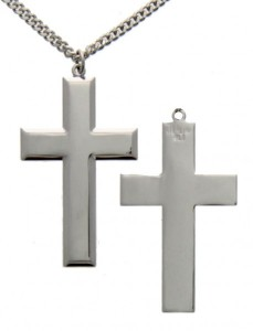 Cross Pendant, Sterling Silver [BL5371]