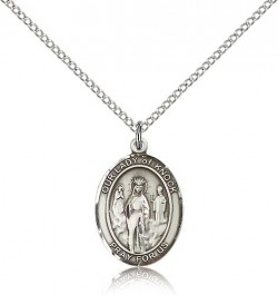 Our Lady of Knock Medal, Sterling Silver, Medium [BL0334]