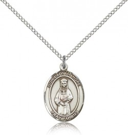 Our Lady of Hope Medal, Sterling Silver, Medium [BL0325]
