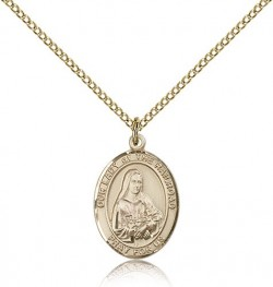 Our Lady of the Railroad Medal, Gold Filled, Medium [BL0466]