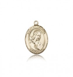 St. Philomena Medal, 14 Karat Gold, Medium [BL3097]