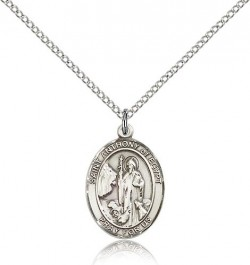 St. Anthony of Egypt Medal, Sterling Silver, Medium [BL0760]