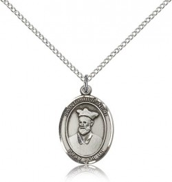 St. Philip Neri Medal, Sterling Silver, Medium [BL3085]