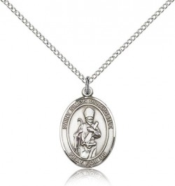 St. Simon Medal, Sterling Silver, Medium [BL3676]