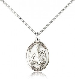 St. Andrew the Apostle Medal, Sterling Silver, Medium [BL0715]