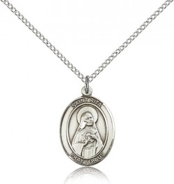 St. Rita of Cascia Medal, Sterling Silver, Medium [BL3256]