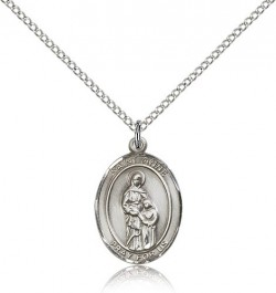 St. Anne Medal, Sterling Silver, Medium [BL0742]