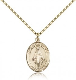 Our Lady of Lebanon Medal, Gold Filled, Medium [BL0358]