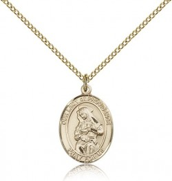 Our Lady of Providence Medal, Gold Filled, Medium [BL0439]