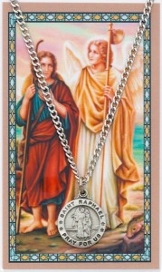 Saint Raphael the Archangel Prayer Card and Medal [MPC0097]