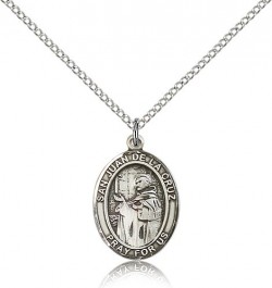 San Juan De La Cruz Medal, Sterling Silver, Medium [BL0523]