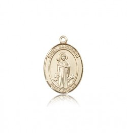 St. Barnabas Medal, 14 Karat Gold, Medium [BL0835]