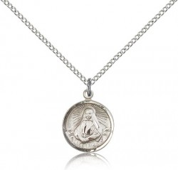 St. Frances Xavier Cabrini Medal, Sterling Silver [BL4570]