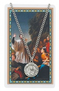 St. Francis Xavier Medal and Prayer Card Set [MPCMV005]
