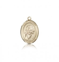 St. Gianna Medal, 14 Karat Gold, Medium [BL1990]