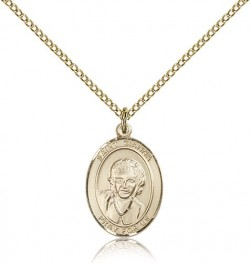 St. Gianna Medal, Gold Filled, Medium [BL1993]