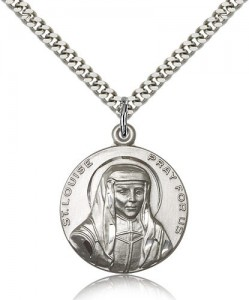 St. Louise Medal, Sterling Silver [BL5132]
