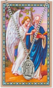 St. Matthew Medal and Prayer Card [MPC0108]
