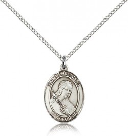 St. Philomena Medal, Sterling Silver, Medium [BL3103]