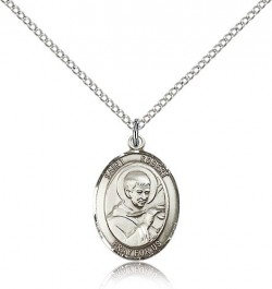 St. Robert Bellarmine Medal, Sterling Silver, Medium [BL3266]