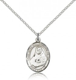 St. Rose Philippine Medal, Sterling Silver, Medium [BL3319]