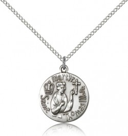 St. Thomas More Medal, Sterling Silver [BL5062]