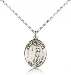 St. Zoe of Rome Medal, Sterling Silver, Medium [BL3974]